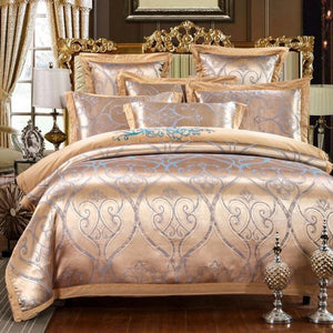 Her Shop Bedding Such as pictures 4 / King Embroidered Pillowcase Duvet Cover bed sheets