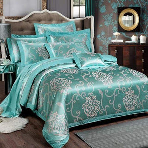 Her Shop Bedding Such as pictures 5 / King Embroidered Pillowcase Duvet Cover bed sheets