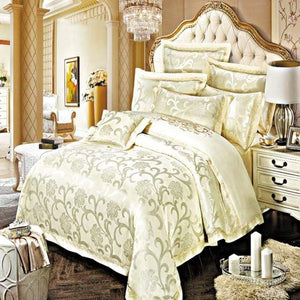 Her Shop Bedding Such as pictures 7 / King Embroidered Pillowcase Duvet Cover bed sheets
