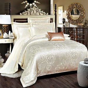 Her Shop Bedding Such as pictures 16 / King Embroidered Pillowcase Duvet Cover bed sheets