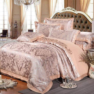 Her Shop Bedding Such as pictures / King Embroidered Pillowcase Duvet Cover bed sheets