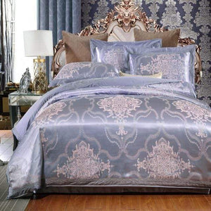 Her Shop Bedding Such as pictures 18 / King Embroidered Pillowcase Duvet Cover bed sheets