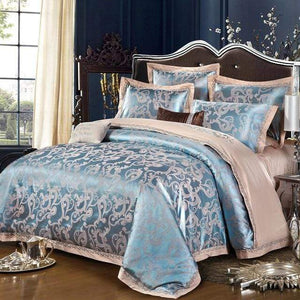 Her Shop Bedding Such as pictures 10 / King Embroidered Pillowcase Duvet Cover bed sheets