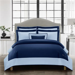 Her Shop Bedding 2 / Queen size 4pcs Luxury Hotel Linen Bedding Set 1200TC Egyptian Cotton Duvet Cover Bed Sheet Set Pillowcases
