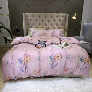 Her Shop Bedding 2 / Queen size 4pcs New Soft Egyptian Cotton Luxury Bedding Set
