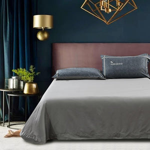 Her Shop Bedding Silky Egyptian Cotton Duvet Cover King Size /Queen Size Bedding Set