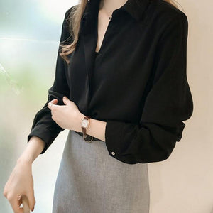Her Shop Blouses & Shirts black / XL Women Fashion Blouses