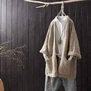 Her Shop 1 / One Size Cardigan long sleeve female  jumper