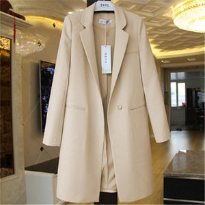 Her Shop coat Beige / S Windbreaker Coat