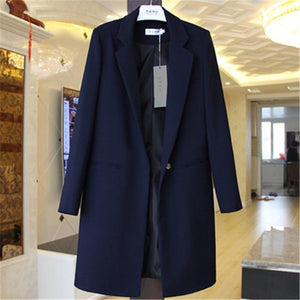 Her Shop coat Navy / S Windbreaker Coat