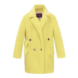 Her Shop Coats, Jackets & Blazers yellowDKL06 / L / China Winter New Arrival High Quality Mid-Length Fur Coat
