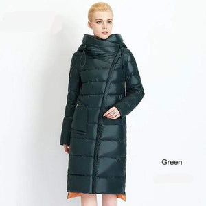 Her Shop Coats, Jackets & Blazers 704 green / S / China Women's High Quality Hooded Warm Fashionable Parkas