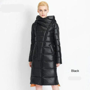 Her Shop Coats, Jackets & Blazers 201 black / S / China Women's High Quality Hooded Warm Fashionable Parkas