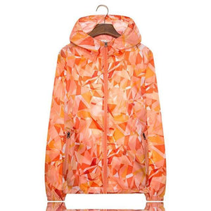 Her Shop Coats Orange / M Women Men Spring Summer Unisex  Windbreaker / Sunscreen / Rainproof Jackets