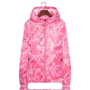 Her Shop Coats Pink / M Women Men Spring Summer Unisex  Windbreaker / Sunscreen / Rainproof Jackets