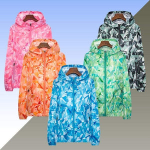 Her Shop Coats Women Men Spring Summer Unisex  Windbreaker / Sunscreen / Rainproof Jackets