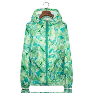 Her Shop Coats Green / M Women Men Spring Summer Unisex  Windbreaker / Sunscreen / Rainproof Jackets