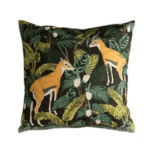 Her Shop Cushion Cover Decorative Pillow Case Vintage Jungle Animal