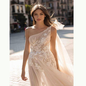 Her Shop Dress picture color / 14W Bohemian Wedding Bridal Dresse
