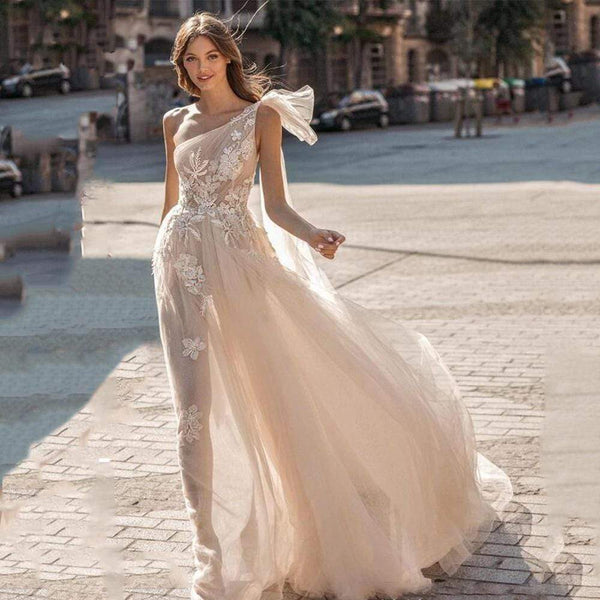 Her Shop Dress Bohemian Wedding Bridal Dresse
