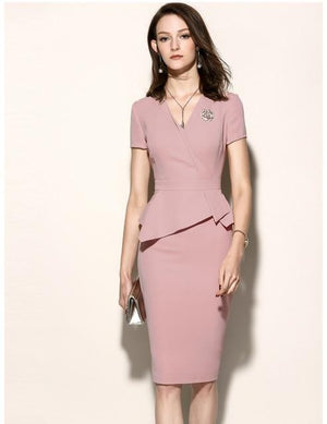 Her Shop Dress only dress 1 / XL High Quality New Women Office Dress