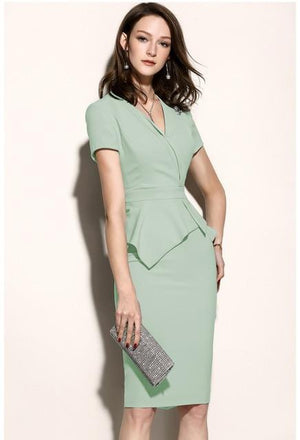 Her Shop Dress only dress 1 / S High Quality New Women Office Dress