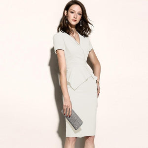 Her Shop Dress High Quality New Women Office Dress