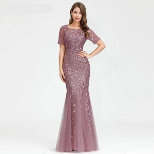 Her Shop Dress Plus Size Elegant Evening Dresses