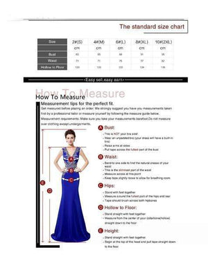 Her Shop Dresses Embroidery Beaded Elegant Long Evening Party Dresses