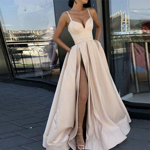 Her Shop Dresses Sweetheart Long Evening Gown