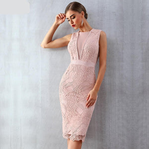 Women Bandage Celebrity Party Dress