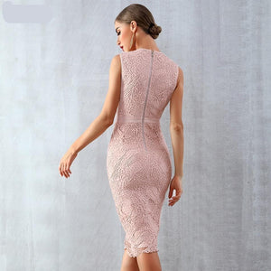 Her Shop Dresses Women Bandage Celebrity Party Dress