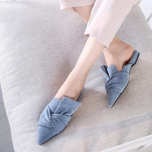 Elegant Woman Mules Slipper
