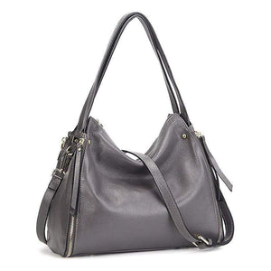 Her Shop Handbag Genuine Leather Shoulder Messenger Bag