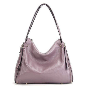 Her Shop Handbag Taro / (30cm<Max Length<50cm) Genuine Leather Shoulder Messenger Bag