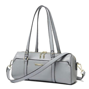 Her Shop Handbag Gray / 34x13x12cm Luxury Brand Designer Genuine Leather Handbag