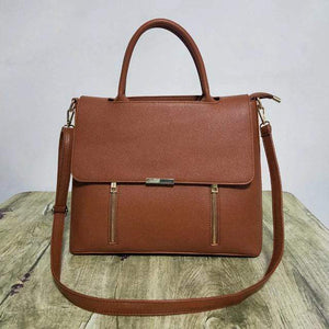 Her Shop Handbags brown Luxury Fashion Business Women Briefcases
