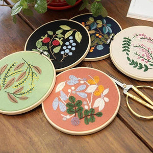 Her Shop handcraft Easy Flower Embroidery DIY Kit