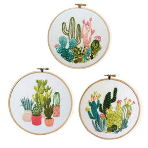 Her Shop handcraft Embroidery DIY Kit