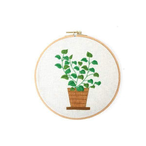 Her Shop handcraft 03 No Hoop Modern Embroidery Handcraft DIY Kit