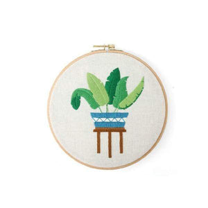Her Shop handcraft 04 No Hoop Modern Embroidery Handcraft DIY Kit