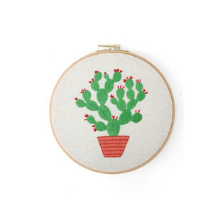 Her Shop handcraft 02 No Hoop Modern Embroidery Handcraft DIY Kit