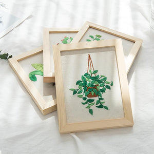 Her Shop handcraft Modern Embroidery Handcraft DIY Kit