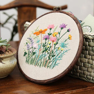Her Shop handcraft 4 Plant Collections Handcraft Embroidery Needlework Kits