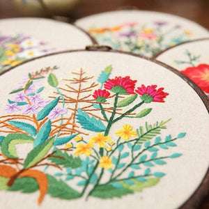 Her Shop handcraft Plant Collections Handcraft Embroidery Needlework Kits