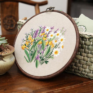 Her Shop handcraft 3 Plant Collections Handcraft Embroidery Needlework Kits