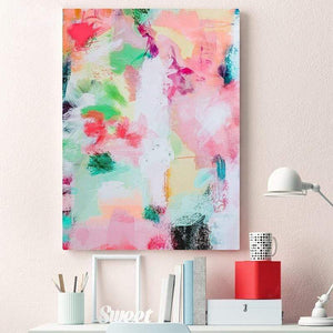 Her Shop Home Decoration Colorful Modern Abstract Painting Wall Art Decor Poster