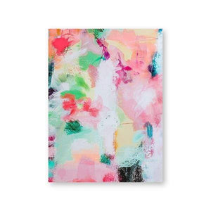 Her Shop Home Decoration 13x18 cm No Frame / PH2363 Colorful Modern Abstract Painting Wall Art Decor Poster