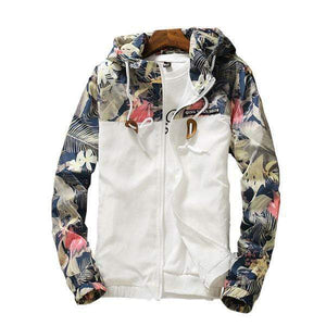Her Shop jacket Casual Floral Jacket