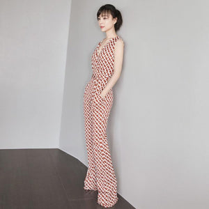 Her Shop Jumpsuits & Rompers High Quality Summer New Fashion Women'S Elegant Vintage Rompers